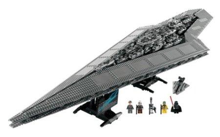 Destructor Estelar de Star Wars en formato Lego