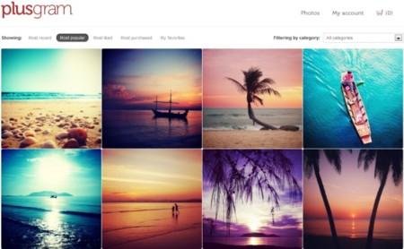 Ya puedes comercializar tus fotos realizadas con Instagram a través de Plusgram, una nueva start up española