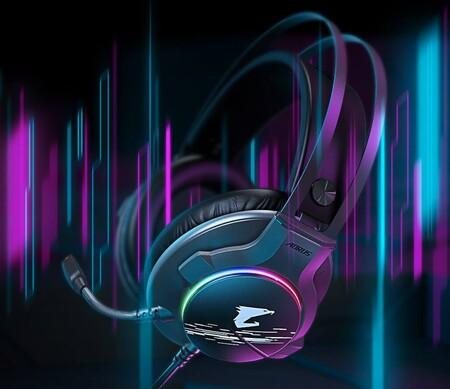 GIGABYTE presenta el AORUS H1, su nuevo auricular gaming con sonido 7.1