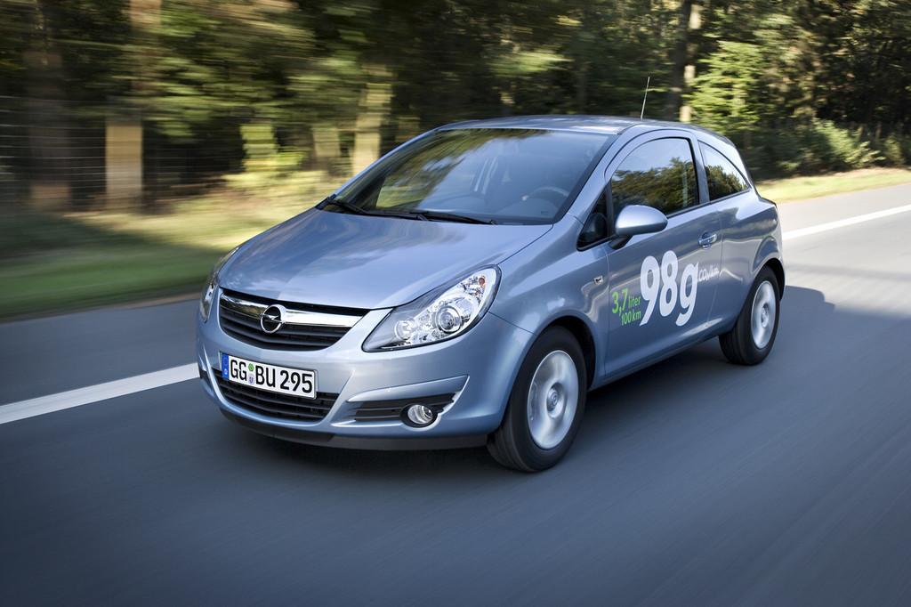 Foto de Opel Corsa 2010 (36/72)