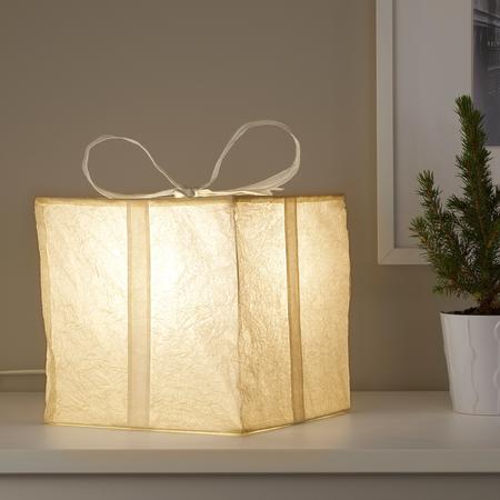 Caja regalo con luz