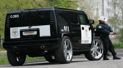 Hummer GeigerCars Sheriff Texas