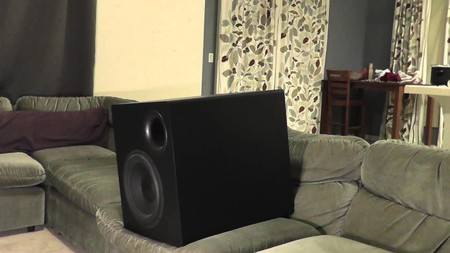 subwoofer sillon