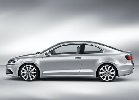 Volkswagen New Compact Coupe Concept Jetta Coupe MK6 2