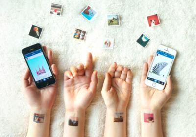 ¿Muy fan de Instagram? Pues ahora podrás hasta tatuarte tus fotos