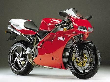 Motos Ducati: 916, 996 y 998