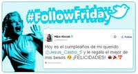 #FollowFriday de Poprosa: La cosa va de cumples de celebrities