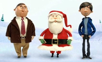 Papá Noel en el clásico anuncio de Mac y PC