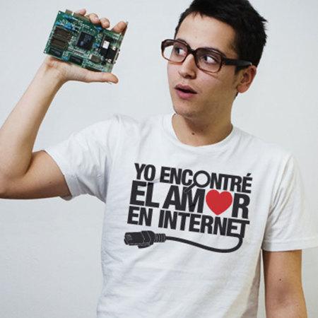San Valentín: camiseta para ciber-enamorados