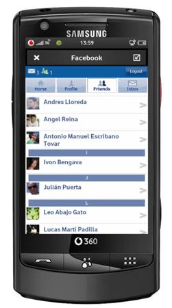 Vodafone 360 Facebook