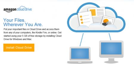 Amazon Cloud Drive ahora permite sincronizar archivos