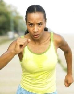 ¿Hacia dónde miras cuando corres?