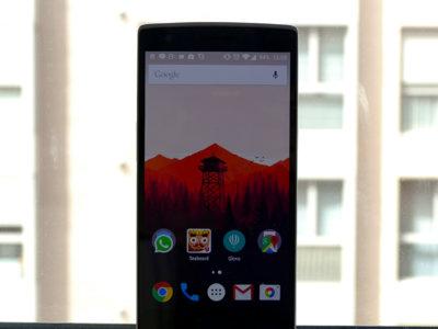 OnePlus One con OxygenOS tras un mes de uso