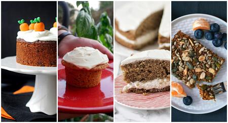 Tartas, pasteles y bizcochos de zanahoria: las 18 mejores recetas y variantes de la 'carrot cake'