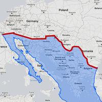 ¿Cómo de largo es el muro de Trump? Si se construyera en Europa, iría desde París hasta el Mar Negro