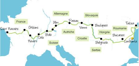 De Francia a Bulgaria en bicicleta, siguiendo los grandes ríos europeos
