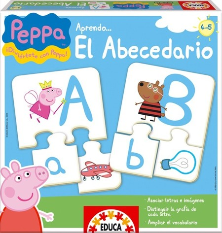 peppa pig abecedario