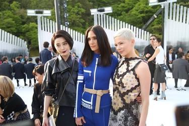 El front row de Louis Vuitton se convierte en un canto a la diversidad