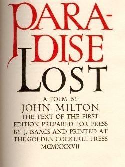 'El paraíso perdido' de Milton será llevado al cine