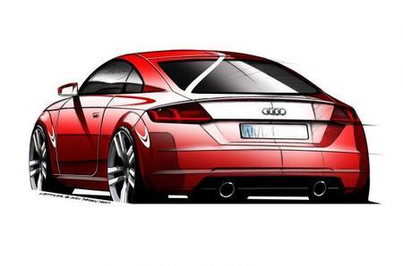 Audi TT 2015, primeros bocetos