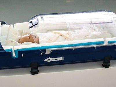 Babypod, la incubadora diseñada con tecnología F1 que facilita el transporte de bebés enfermos