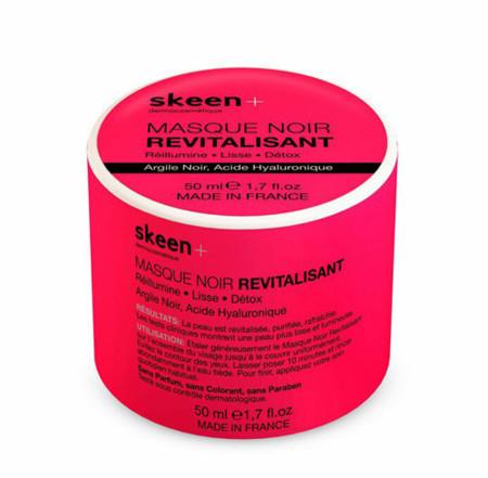 Skeen + presenta su mascarilla de arcilla negra y ácido hialurónico