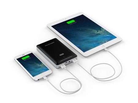 RavPower Deluxe Series, batería externa de 15000 mAh para no quedarte nunca sin batería en tu iPhone e iPad