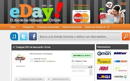 El 26 de noviembre es el eDay, el día de las rebajas online, anótalo en tu agenda