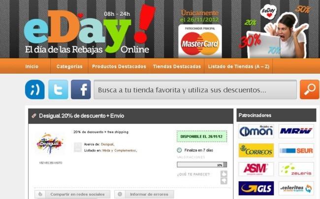 eDay, el día de las rebajas online