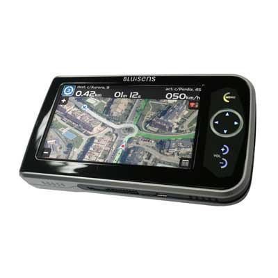Blusens G01, navegador GPS con imagen real