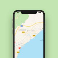 Apple Maps podría ofrecer navegación con realidad aumentada para el iPhone 8, éste icono en 3D así lo indica