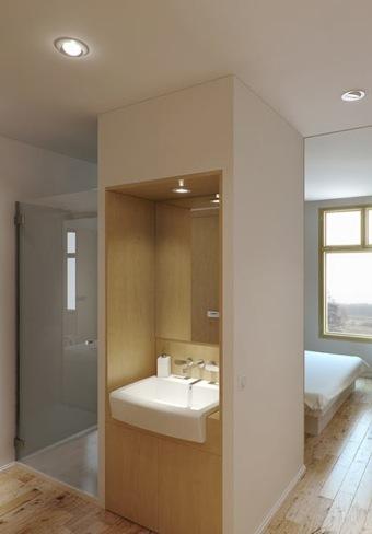 apartamento correderas baño