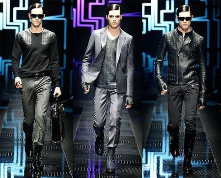 Versace, Otoño-Invierno 2010/2011 en la Semana de la Moda de Milán
