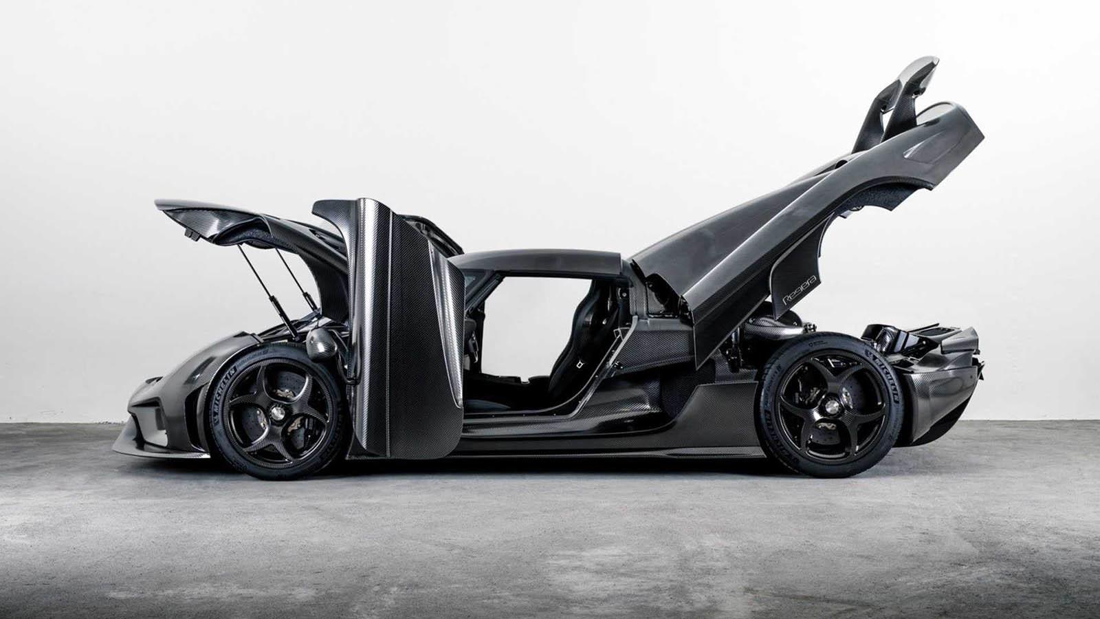 Foto de Koenigsegg Regera Naked Carbon (3/14)