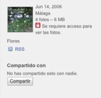 Picasa web albums ahora permite crear álbumes privados