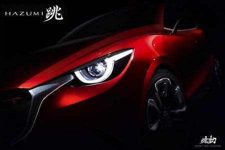 Mazda Hazumi, el prototipo de un próximo subcompacto, preparado para tomar Ginebra