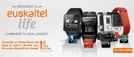Euskaltel se apunta a la financiación de wearables y cámaras deportivas