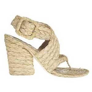 Sandalias de rafia de Stella McCartney