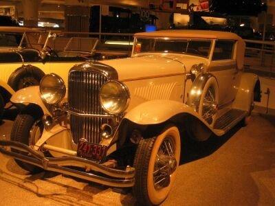 1931 Duesenberg Convertible Victoria