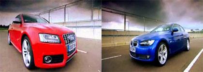 Seguimos con el pique: Audi S5 contra BMW 335i en Fifth Gear