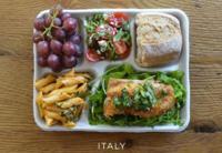 Lo que comen los niños en las escuelas alrededor del mundo
