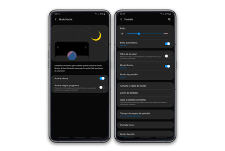 Samsung Galaxy A80 Modo Noche