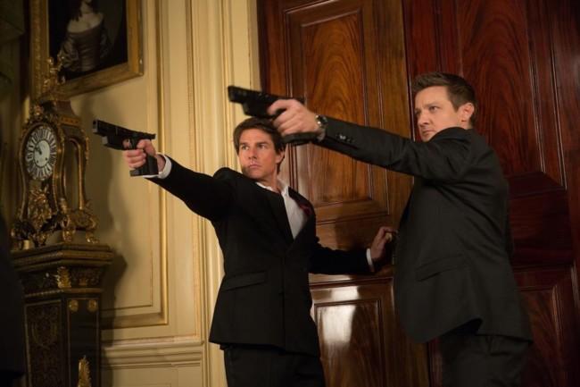 Tom Cruise y Jeremy Renner