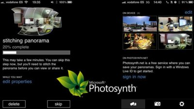 Photosynth, creando y compartiendo panorámicas interactivas desde iOS
