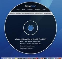 TrueDisc: Copias de seguridad robustas