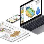 Apple actualiza Pages, Numbers y Keynote para iOS y macOS