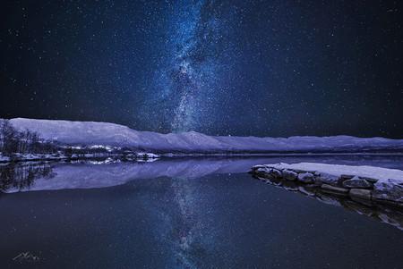 La Vía Láctea en el cielo infinito de Noruega capturada por Sondre Eriksen