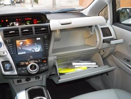 Toyota Prius+ Guanteras y porta bebidas