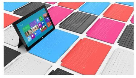 Microsoft Touch Cover, cubierta con teclado táctil