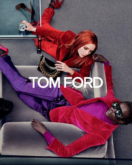 La nueva campaña de Tom Ford para el otoño es todo lo que deseamos ahora mismo y Carine Roitfeld tiene algo de culpa